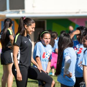 Soccer for Success comes to the Weingart YMCA in East LA